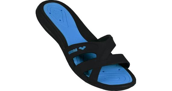 arena Athena Hook Sandals Women black-turquoise